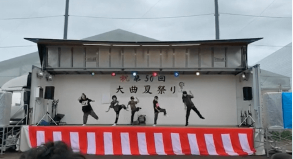 And we!!ヒップホップダンス大曲夏祭り(札幌北広島)